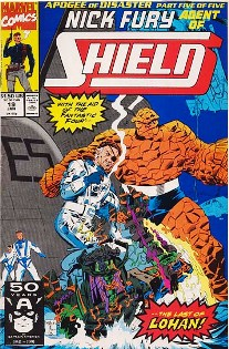 NICK FURY SHIELD nº19